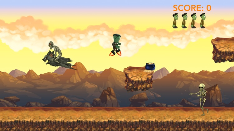 Jr's Mad Dash screenshot-0
