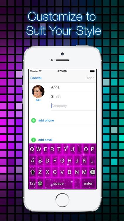 Glow Keyboard Customize Theme