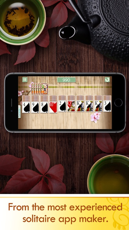 Spider Solitaire Deluxe® screenshot-1
