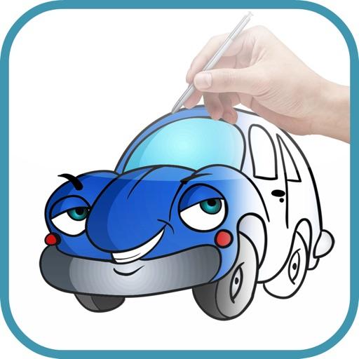 Artist Green - How to draw Cartoon Cars