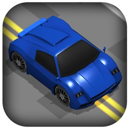 Zig-Zag Nitro Car -  Speed Fast Run to Escape from Furious Road Game