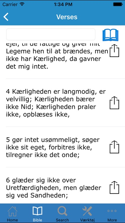 Bibelen på Dansk (The Holy Bible in Danish) screenshot-2