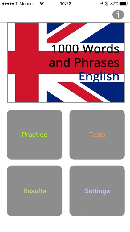 1000 Words and Phrases - English screenshot-0