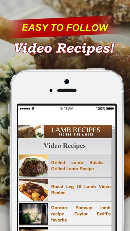 Lamb Recipes++ screenshot-2