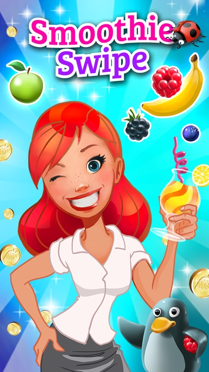 Smoothie Swipe - Free Match 3 Fruit Juice Maker screenshot-4