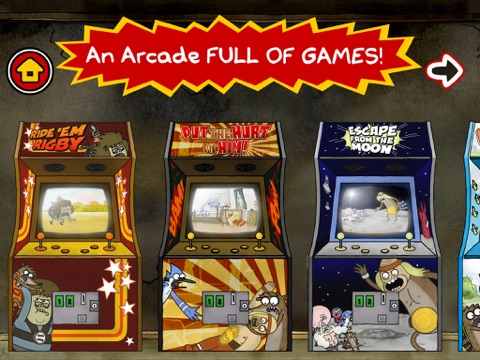 Just a Regular Arcade tablet App screenshot 1