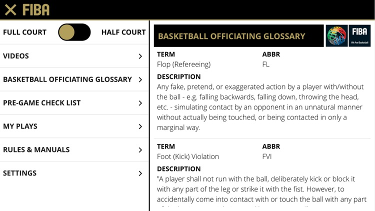 FIBA iRef PGC screenshot-1
