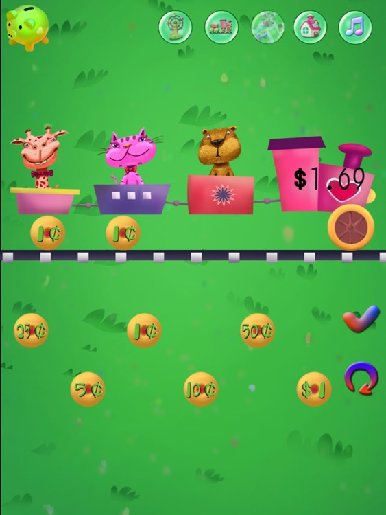Baby Supermarket:Grade 1 Math Games-Candy Elementary School:USD Coins Counter,Addition and Subtraction HD! screenshot-3