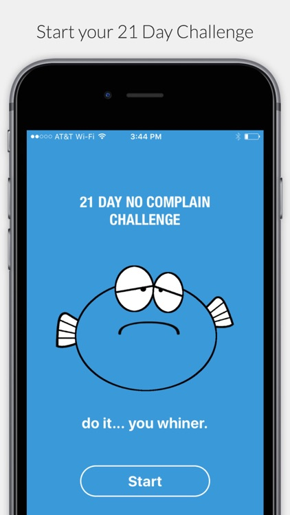 Carp - 21 Day No Complaint Challenge screenshot-0