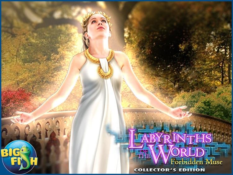 Labyrinths of the World: Forbidden Muse HD - A Mystery Hidden Object Game (Full) screenshot-4