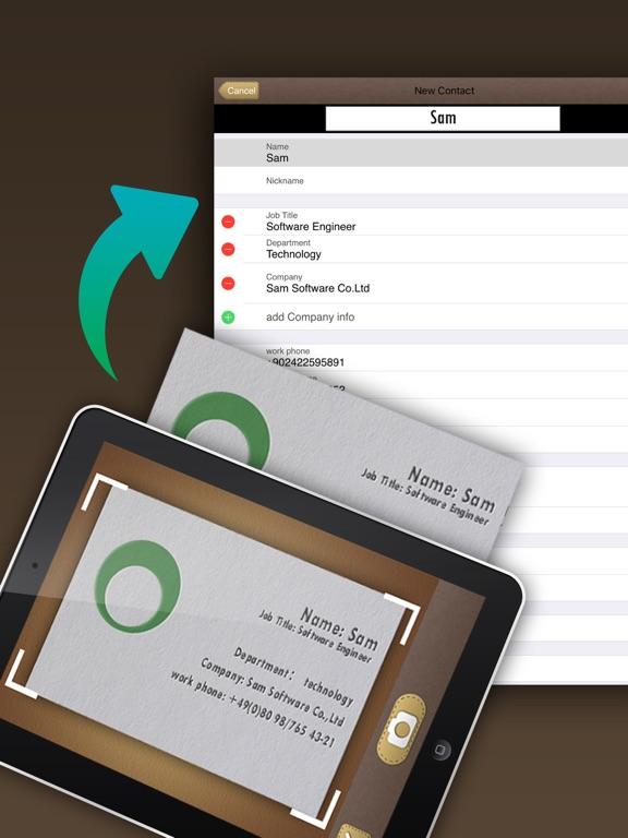 Screenshot #2 for SamCard HD