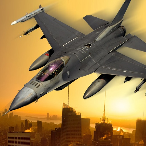 Jet Fighter Dogfight Chase - Hybrid Flight Simulation and Action game 2016
