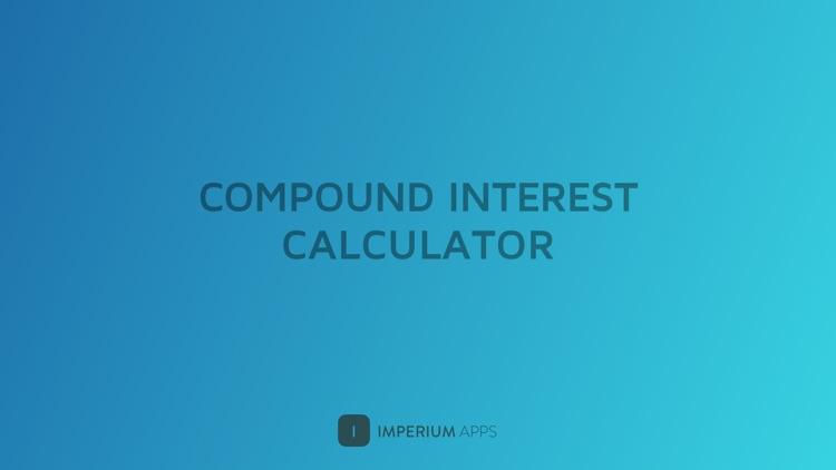 Compound Interest Calculator by MoneyCoach