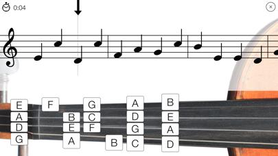 Violin Sight Reading Trainer screenshot