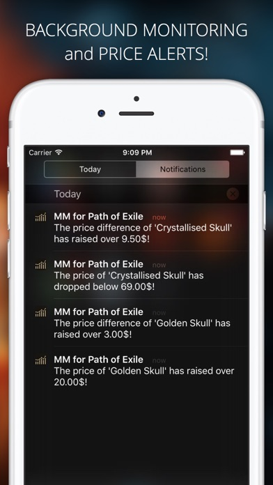 Market Monitor for Path of Exile Screenshot