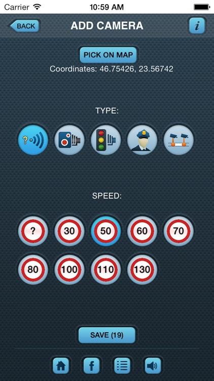 iSpeedCam (Traffic Speed Camera Alert)
