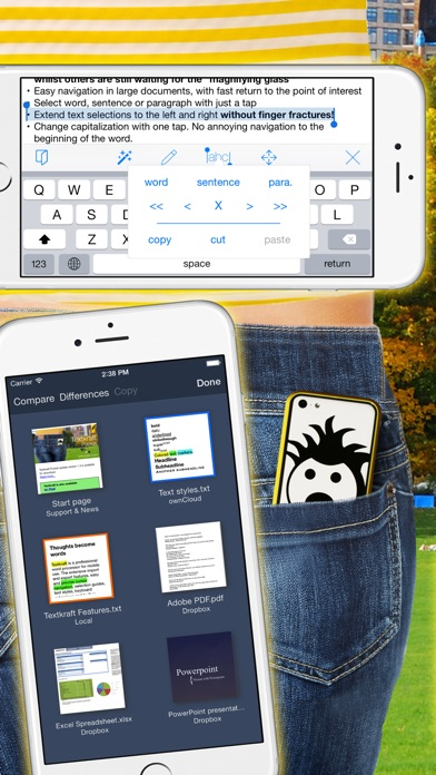 Textkraft Pocketのスクリーンショット