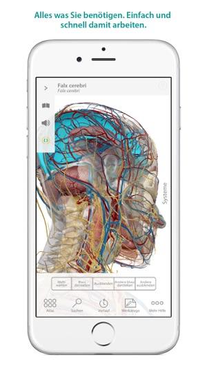 Atlas der menschlichen Anatomie im App Store