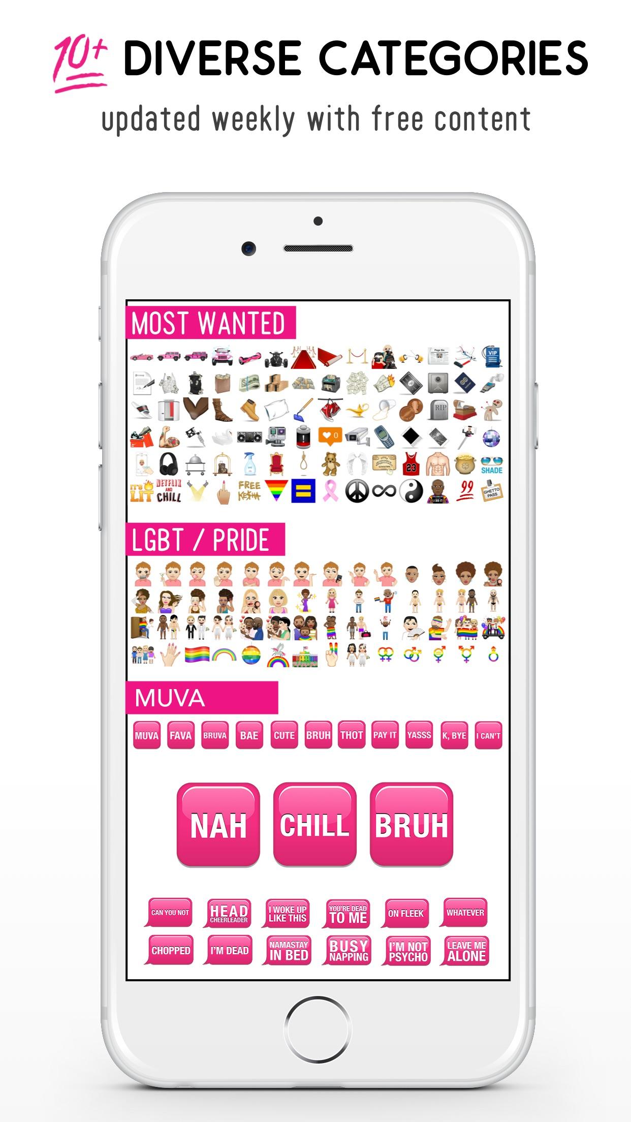 MuvaMoji by Amber Rose Screenshot