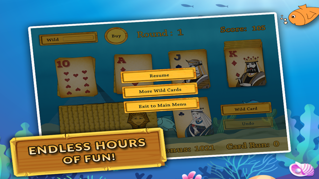 Classic Tri-peaks Towers Solitaire Blitz : Relaxing Klondike Patience Card  Game Paid on the App Store