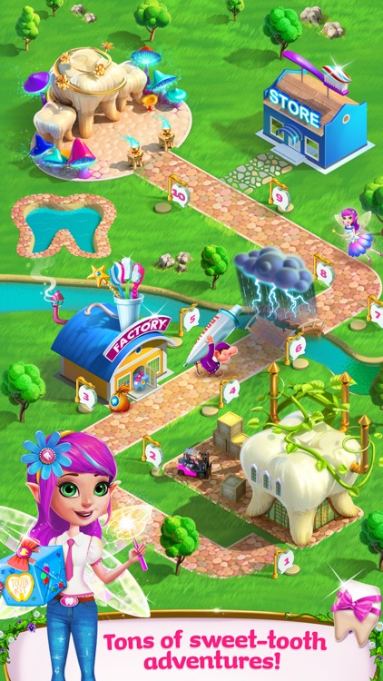 Tooth Fairy Princess Adventure screenshot-4