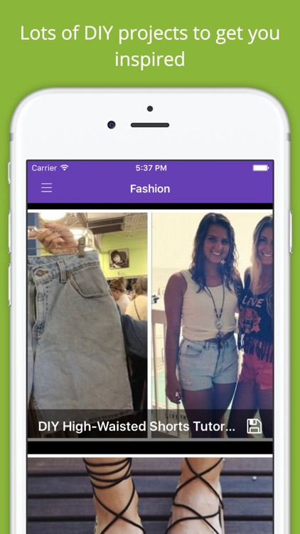 DIY Fashion Project Ideas PRO - Handmade crafts