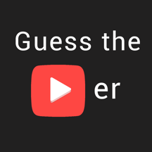 Guess the Youtuber - word guessing game for internet celebs