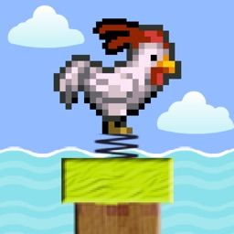 Impossible Spring Ninja Chicken - Clumsy Rooster Simulator