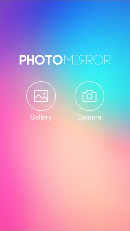 Photo Mirror - filters , effects , edit