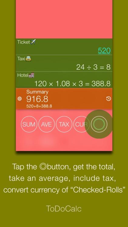ToDoCalc - Best free & Smart calculator