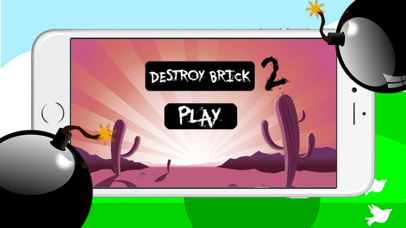 Destroy Brick Pro 2 – The bomb building planning game for fun screenshot one