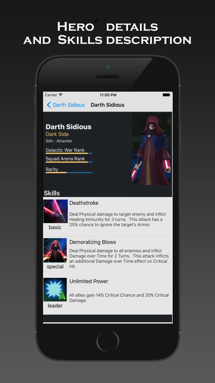 """Heroes Secrets a Guide for """"Star Wars Galaxy of Heroes"""""""