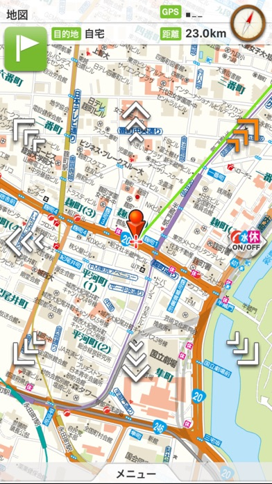 震災時帰宅支援マップ首都圏版 screenshot1