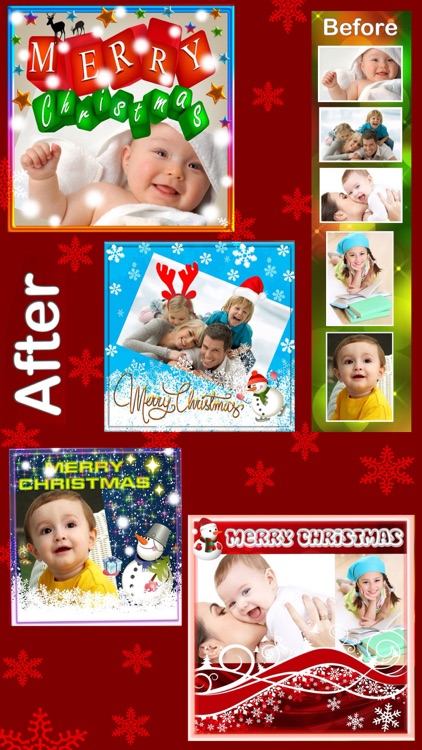 Photo Frames For Christmas