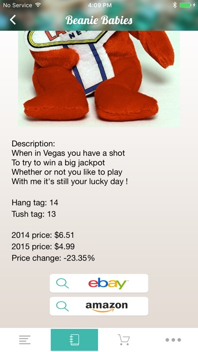 Beanie Collectors - A Beanie Baby Value Price Guide app image