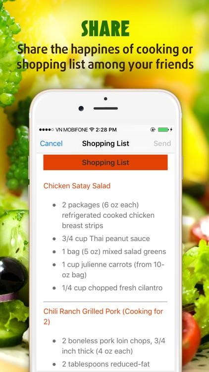 Yummy Salad Recipes Pro screenshot-4