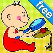 Quel est l'intrus LITE? Jeux de développement pour bambins et enfants: les premiers mots et images