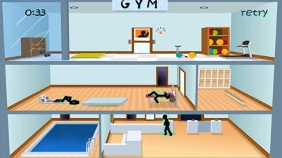 Deadly Gym - Stickman Edition screenshot three