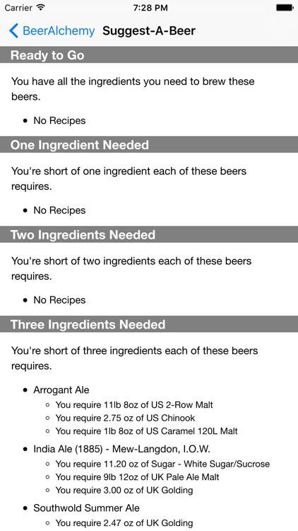 BeerAlchemy Touch 2 screenshot-2