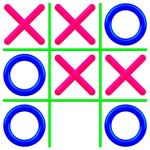 Tic Tac Toe - Kids Free Game Icon