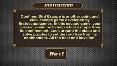 Confined Bird Escape-1