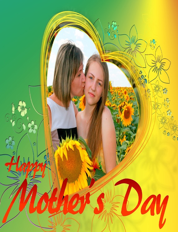 Mother's Day Fun Camera Photo Frame HD