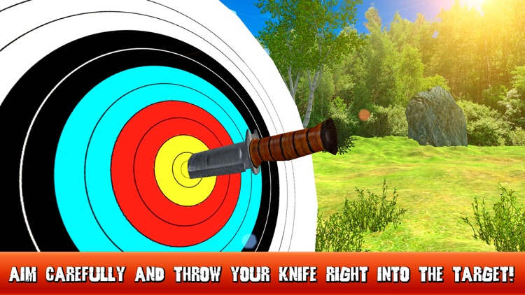 Knife Throwing Master 3D