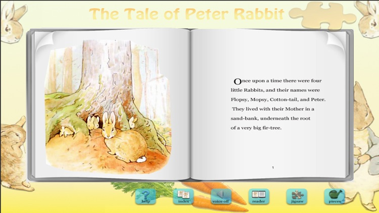 Peter Rabbit Jigsaw Puzzles screenshot-3