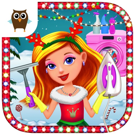 Princess Christmas Cleanup - Kitchen, Bath & Dress Up Room Clean Up