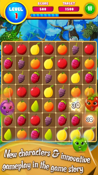 New Fruit Story: Puzzle Match screenshot three