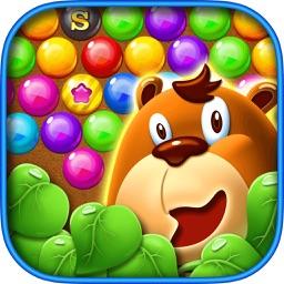 Bears Playing Bubble