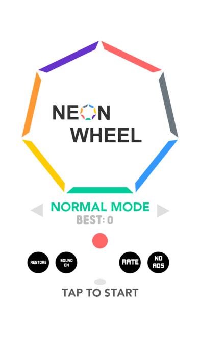 Neon Wheel screenshot one