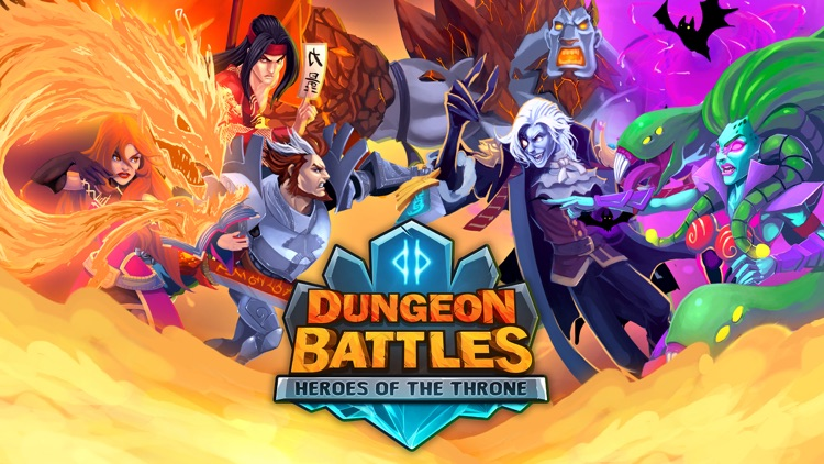 Dungeon Battles Heroes of the Throne screenshot-4
