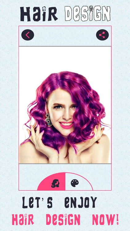 Girly Hair Design Pro - Wig Salon to Change Hairtyle & Color screenshot-3